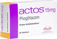 Actos Tabletten 15mg 98 Stück