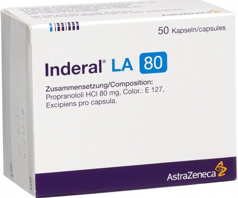 Inderal La 80 Discontinued