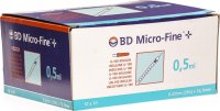 BD Microfine+ U100 Insulin Spritze 0.33mm x 12.7mm 0.5ml