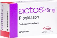 Actos Tabletten 45mg 98 Stück