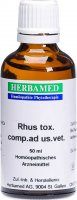 Herbamed Rhus Toxicodendron Comp Ad Us Vet 50ml