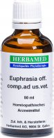 Produktbild von Herbamed Euphrasia Officinal Comp Ad Us Vet 50ml