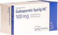 Image du produit Gabapentin Spirig HC Kapseln 100mg 50 Stück