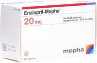 Image du produit Enalapril Mepha Tabletten 20mg 98 Stück