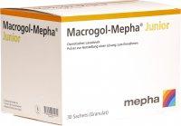 Image du produit Macrogol Mepha Junior Pulver Beutel 30 Stück