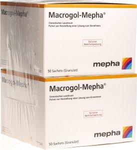 Image du produit Macrogol Mepha Pulver Beutel 100 Stück