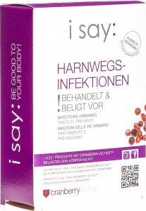 Image du produit i say: Infections urinaires Capsules 30 pièces