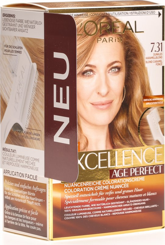 Excellence Age Perfect 7 31 Dunkles Caramel Blond In Der Adler Apotheke