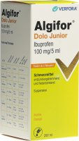 Produktbild von Algifor Dolo Junior Suspension 100mg/5ml 200ml