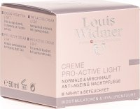 Louis Widmer Crème Pro-Active Light Parfümiert 50ml