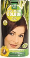 Henna Plus Long Lasting Colour Warm Brown 4.45