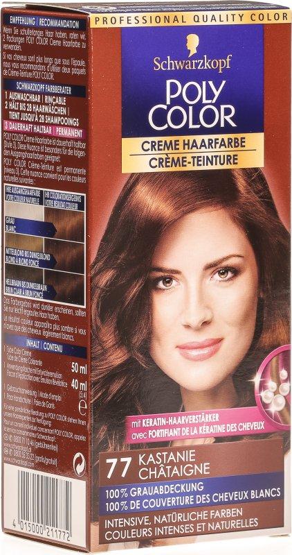 kastanie haarfarbe