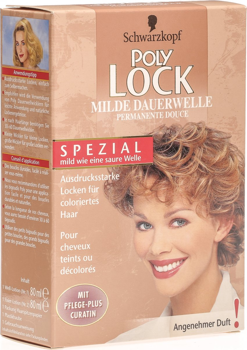 Dauerwelle wella curl it
