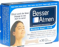 Product picture of Besser Atmen Nose Strips, 30 pieces Large Size