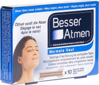 Product picture of Besser Atmen Nose Strips Beige Normal 10 pieces