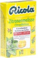 Product picture of Ricola Zitronenmelisse Kräuterbonbons ohne Zucker Box 50g
