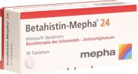 Betahistin Mepha 24mg 50 Tabletten