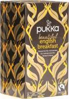 Pukka Beautiful English Breakfast Tee Bio Beutel 20 Stück