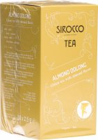 Image du produit Sirocco Almond Oolong 20 Teebeutel