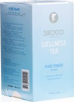 Image du produit Sirocco Wellness Tea Pure Power 20 Teebeutel