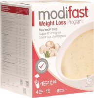Modifast Weight Loss Program Suppe Champignon 8x 55g