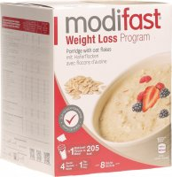 Modifast Weight Loss Program Porridge mit Haferflocken 8x 55g
