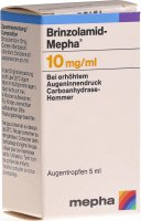 Brinzolamid Mepha Suspension Opht 10mg/ml 5ml
