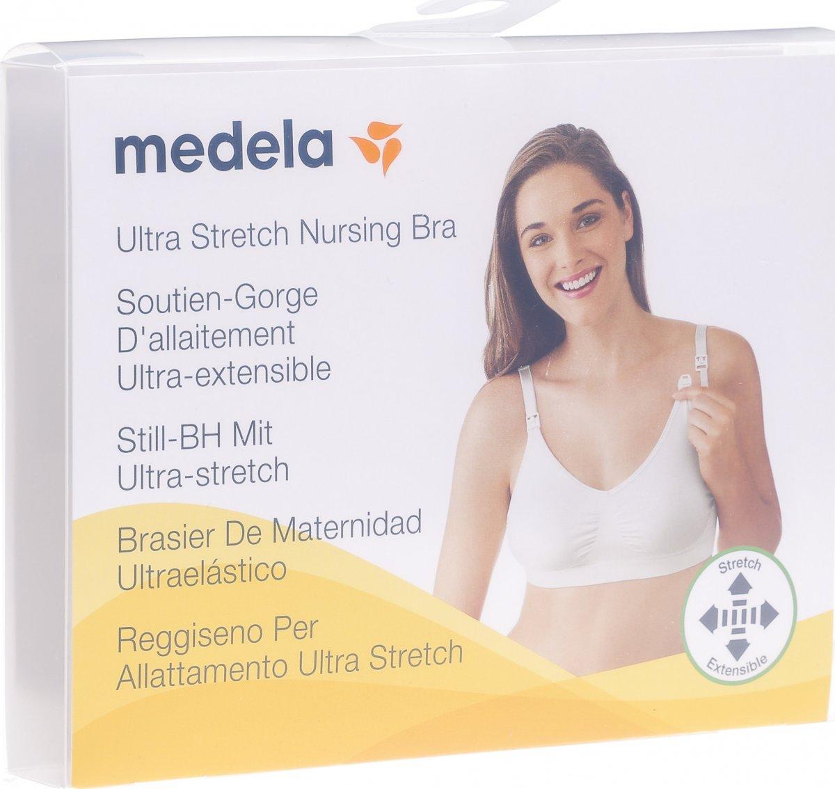 3f0e5eada7753 Medela Schwangerschafts- und Still BH S Weiss in der Adler Apotheke