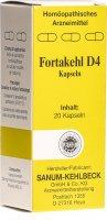 Immagine del prodotto Fortakehl Kapseln D 4 Trit 20 Stück