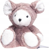 Habibi Plush Mouse Bear mit Kapuze