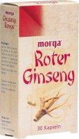 Immagine del prodotto Morga Roter Ginseng Kapseln 30 Stück