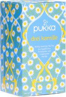 Product picture of Pukka Three Organic Chamomile Tea Bags 20 pieces