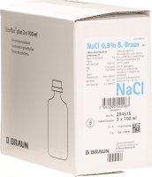 NaCl Braun 0.9% O Best 3 Miniflac 100ml