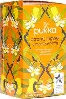 Immagine del prodotto Pukka Zitrone, Ingwer & Manuka-Honig Tee Bio (neu) Beutel 20 Stück