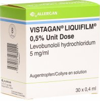 Vistagan Liquifilm U 0.5% 30 Monodosis 0.4ml