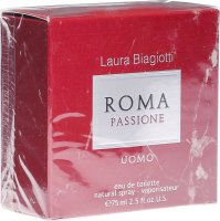 Laura Biagiotti Roma Passione Uomo Eau de Toilette Natural Spray 75ml