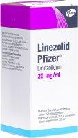 Immagine del prodotto Linezolid Pfizer Granulat 20mg/ml Pulver Suspension Flasche 150ml