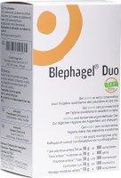 Product picture of Blephagel Duo Gel 30g + 100 Kompressen
