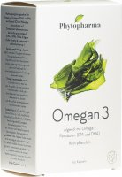 Product picture of Phytopharma Omegan 3 Kapseln 60 Stück