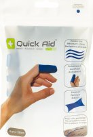 Product picture of Quick Aid Pflaster 6x100cm Latexfrei Blau