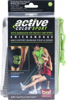 Product picture of Bort Active-Color Sport Kniebandage M Schwarz