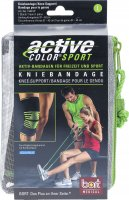 Product picture of Bort Active-Color Sport Kniebandage L Schwarz