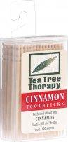 Image du produit Tea Tree Therapy Zahnstocher Zimt 100 Stück