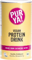 Image du produit Purya! Vegan Proteindrink Vanille Erdbeere Bio 550g