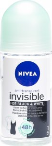 Produktbild von Nivea Deo Invisible Black&white Fresh Roll On 50ml