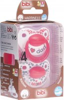 Produktbild von Bibi Nuggi Dental Happiness Ring 0-6 Mum/Dad Duopremium