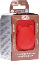 Produktbild von Bibi Nuggi Dental Happiness Ring 0-6 Tiger Duopremium