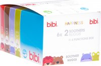 Bibi Nuggi Happiness Densil Ring 0-6 Mum/Dad Duopremium 6 Stück