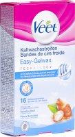 Image du produit Veet Kaltwachsstreifen Bikini & Achseln Sensible Haut 8x 2 Stück
