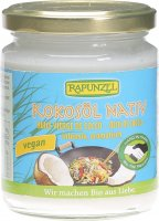 Image du produit Rapunzel Kokosöl Nativ Glas 200g